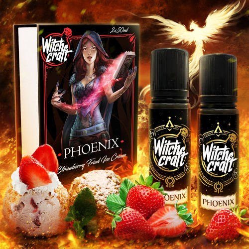 Phoenix 2x50ml Box Shortfill