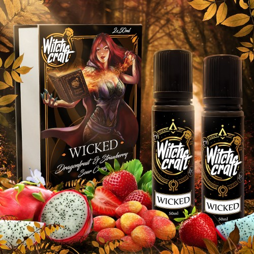 Wicked 2x50ml Box Shortfill