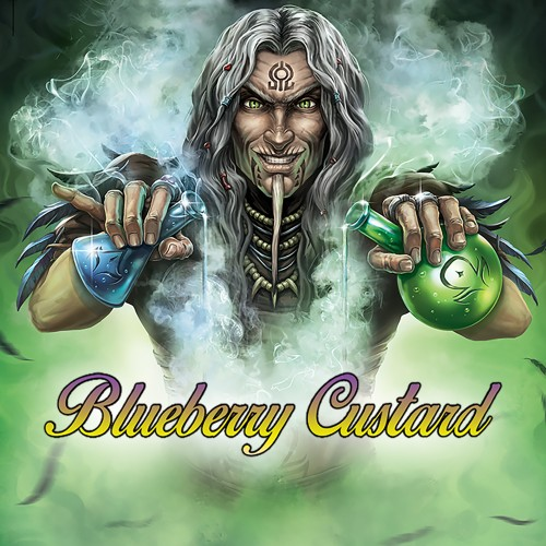 Blueberry Custard 10ml